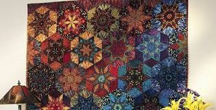 Make Your Own Art Quilt Masterpiece - Quilting Digest & Luminosity Stars Quilt Pattern Adamdwight.com