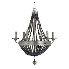 beaded chandelier shades silver pottery barn