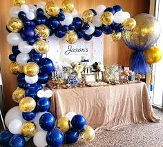 white and gold birthday decorations navy blue birthday decorations white and gold for christening day dessert