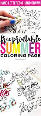25+ unique Summer coloring pages ideas on Pinterest   Mandals ...