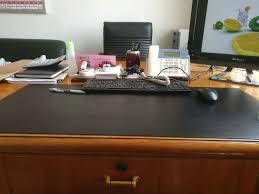 customize any size pu leather desk pad