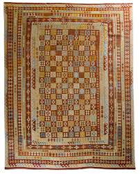 kilim rug with traditional motifs 2016 afghanistan