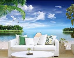 Wall Mural For Living Room Popular Ocean Wall Murals Buy Cheap Ocean Wall Murals Lots From