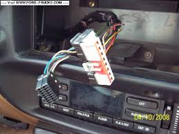 1995 ford explorer limited stereo jbl system ford truck thanks for your responce and help i so appreciate it i took a pic of the back of the radio and the wires coming from the explorer thanks