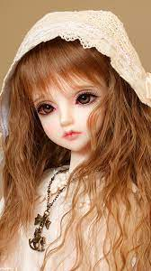 Fluorescent Pink Cute Doll Live ...