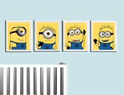 Minion Bedroom Despicable Me Minions Art Prints Coliseumgraphics Maybe Do With