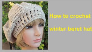 Crochet Beret Pattern New How To Crochet Winter Beret Hat Free Pattern Tutorial By Wwwika