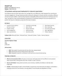 First Job Resume Custom First Job Resume 28 Free Word PDF Documents Download Free