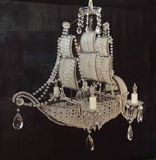 this chandelier a ming dynasty junk ship design was created in the early half