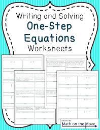 solving 2 step equations worksheet math solving equations worksheet printable worksheets algebraic high school variable grade