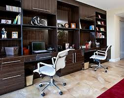 awesome home office designs modern ideas built in desks with a glossy finish built home office desk