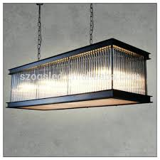 rectangular glass chandelier modern black iron rectangle crystal for hotel square chandeliers mercury