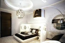 modern chandelier bedroom grab luxury design bedroom with arc floor lamp and platform bed and silver