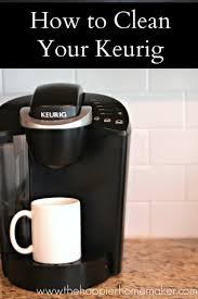 It is not only suitable for home usage but also a great addition for any office. How To Clean A Keurig Descale Clean A Keurig With Vinegar