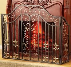 fireplace spark screen pea fireplace screen brass fireplace fan
