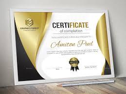 Modern Certificate Ad Modern Affiliate Certificate In