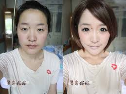 asian makeup transformation what do you think of nini 39 s makeup too good or much