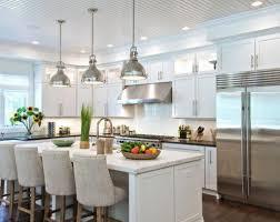 Pendant Lights In White Kitchen Silver Pendant Lights For Kitchen Pogot Bietthunghiduong Co