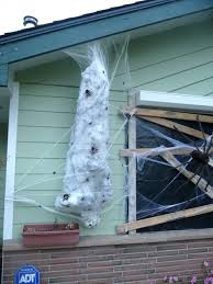 diy giant spider web how to make a spider victim just add a giant spider on diy giant spider web spider web decoration