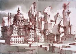 "Image result for Sergei Tchoban - ""Architectural Drawings"""