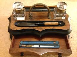 antique desk sets desk executive desktop pen sets wooden desktop writing set