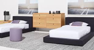 modern twin bed. Dodu Twin Bed - Hero Image Modern