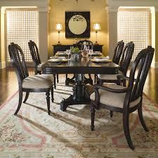 Kincaid Dining Room Sets Dining Room Kincaid Sturlyn Solid Wood Rectangular Pedestal Table