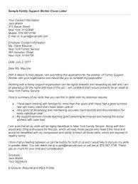 Sample Social Work Cover Letters Resume Bank