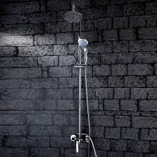 contemporary shower heads. Faucets Images Contemporary Shower Faucet With 6 Inch Head And Hand Wallpaper Background Photos Heads C
