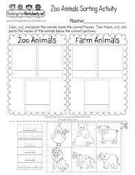 Animals are a popular esl topic especially with young learners and students in primary school. Zoo Animals Sorting Activity Worksheet For Kindergarten Free Printable Digital Pdf