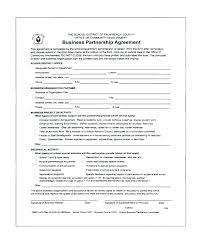 Sample Partnership Agreement Form Corporate Partnership Agreement Template Andrewhaslen Co