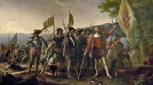columbus day who was christopher columbus and is columbus  christopher columbus arrives on the san salvador peninsula 1492