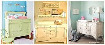 vintage nursery furniture. Unique Furniture Beautiful Vintage Buffets Come In All Shapes And Sizes Add A Changing Pad  You Have Created One Of Kind Table On Vintage Nursery Furniture B