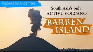 Barren Island, india's only active Volcano - YouTube