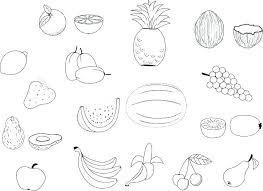 Fruit Coloring Sheets Fruit Coloring Sheets Fruit Color Pages Fruit