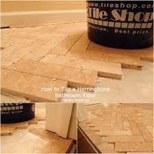 Diy Bathroom Floors Herringbone Tile Floors Diy Tile Thetileshop Thetileshop