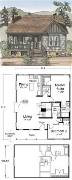 cabin floor plans. Cozy Cabin Floor Plan Plans