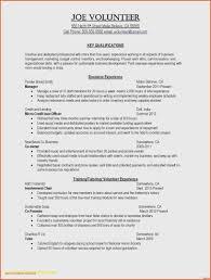 volunteer template resume samples volunteer valid free resume templates to download