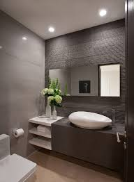 Powder room ideas powder room contemporary with wall mirror wood door wood  door