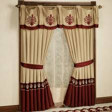 Outstanding Window Curtains Design For Living Room Plus Wall Art And  Fireplace Also Sectional Sofa Ideas