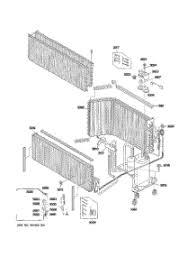 parts for ge azhdabw air conditioner com 04 unit parts parts for ge air conditioner az61h12dabw1 from com