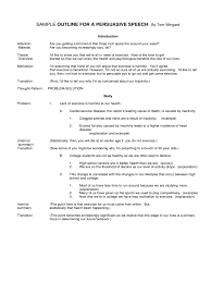 persuasive speech examples templates in pdf word excel  sample outline for a persuasive speech