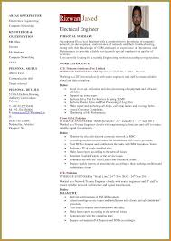 7 Engineer Cv Samples Intern Resume