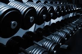 Gewichten sportschool