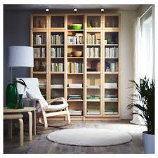 For Bookcases In Living Rooms Billy Oxberg Bookcase White 78 3 4x93 1 4x11 3 4 Ikea