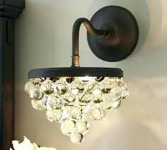 crystal wall sconce lighting wall sconces chandelier crystal crystal wall sconce light fixture o wall sconces