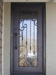 wrought iron exterior doors. Single Wrought Iron Entry Door Images - Google Search Exterior Doors