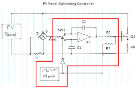 solar battery charger schematic diagram wiring diagrams solar panel optimizing battery charger