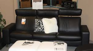 Ekornes Stressless Space Low Back Sofa Loveseat Chair and
