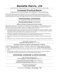 Lpn Resume Skills Sample Resume Licensed Practical Nurse Monster Com Impressive MonsterCom Resumes